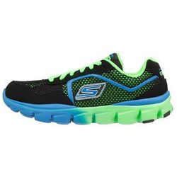 Skechers GO RUN RIGHT Tenisówki i Trampki black/green