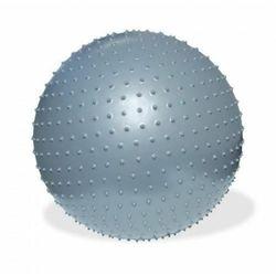 Piłka fitness 75cm do masażu z pompką