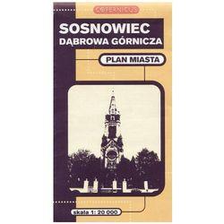 Sosnowiec, Dąbrowa Górnicza. Plan miasta