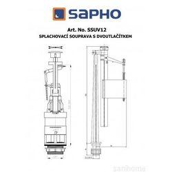 Mechanizm spłukujący SSUV12