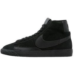 Nike Sportswear BLAZER MID PREMIUM VINTAGE Tenisówki i Trampki wysokie black/white