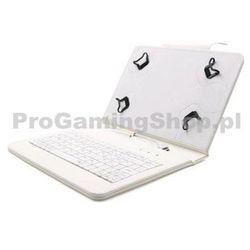 FlexGrip Sprawa z klawiaturą Lenovo IdeaTab dla-S6000 Biały