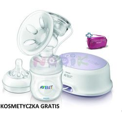 Laktator elektryczny Natural Comfort + kosmetyczka GRATIS Avent