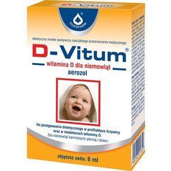D-Vitum witamina D dla niemowląt aer. 6ml