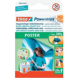 Plastry do plakatów, TESA PowerstripsR Deco 58003-00079-00 20 szt.
