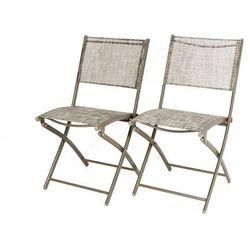 Zestaw balkonowy 2 krzesła