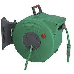 FERRO zwijacz automatyczny ścienny Garden + wąż ogrodowy 20m DY600