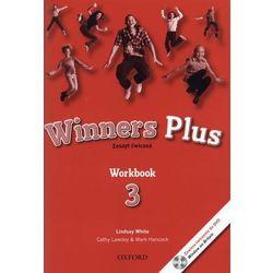 Winners Plus. Workbook. Klasy 4-6, szkoła podstawowa, część 3. Język angielski. Zeszyt ćwiczeń (opr. broszurowa)