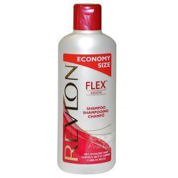 Revlon Flex Dry, Damaged Hair Szampon z kreatyną Włosy suche i zniszczone 650ml