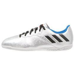 adidas Performance MESSI 16.4 IN Halówki silver metallic/core black/shock blue