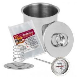 SZYNKOWAR + Termometr + Worki 1,5 KG