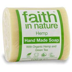 Organiczne mydło z olejkiem konopi i zielonej herbaty - Faith in Nature