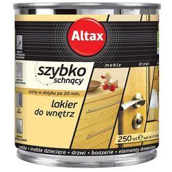 Szybkoschnący lakier do wnętrz Bezbarwny 0,25l półmat Altax