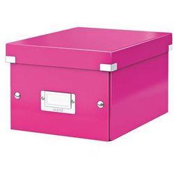Pudło uniwersalne Leitz Click&Store Wow 6044 - różowe