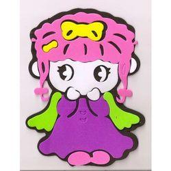 Obrazek - zabawka na ścianę - Dziewczynka - mały