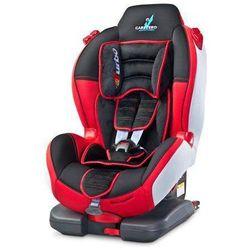 Fotelik samochodowy Sport Turbo Fix 9-25 kg czerwony