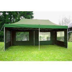 Rovens.pl Pawilon 3 x 6 m - Zielony namiot automatyczny + ścianki