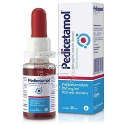 Pedicetamol płyn 0,1g/ml 30ml