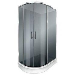 DURASAN PALERMO NK 120 Kabina prysznicowa 120x80 + brodzik + syfon, szkło ciemne * WYSYŁKA GRATIS