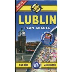 Lublin 1:20 000 mapa kieszonkowa (opr. miękka)