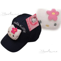 Hello kitty wyjątkowe czapki z daszkiem Granatowy