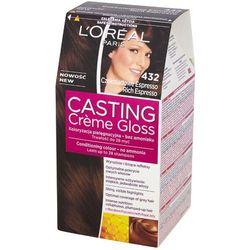 LOREAL Paris Casting Creme Gloss 432 Czekoladowe Espresso Farba do wło