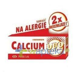 Calcium DUO + Kwercetyna tabl. mus. x 20