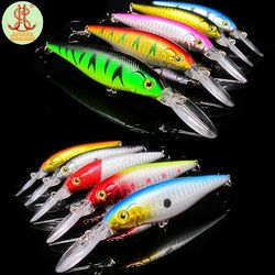 10pcs Wobbler Fishing lures china fit yo zuri kosadaka rod minnow jerkbait feeder pesca crankbait artificial bait tackle F172