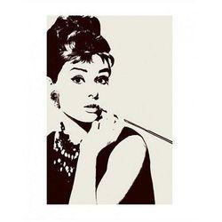 Audrey Hepburn (Papieros) - reprodukcja