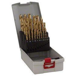 Zestaw wierteł krętych do metalu Bosch 2608587019, HSS, Uchwyt prosty, DIN 338, 1 zest.