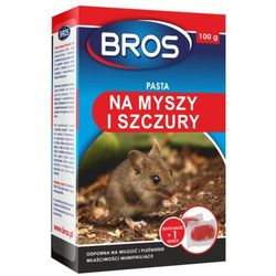 BROS - pasta na myszy i szczury 100g (BROS051)
