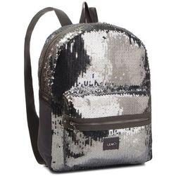 ba5bbe0774882 Plecak LIU JO - Zaino Tessuto T19137 T0300 Silver/Grigio Chia B3321