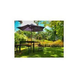 Foto naklejka samoprzylepna 100 x 100 cm - Meble ogrodowe w cieniu