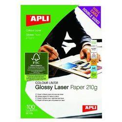 Papier fotograficzny APLI A4 błyszczący 210g/m2 100ark.