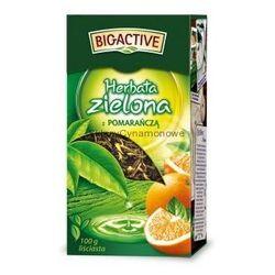 Bio-Active zielona z pomarańczą 100g liściasta