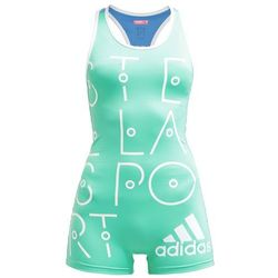 adidas Performance STELLA SPORT Dres bright green/lucky blue