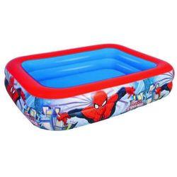 Bestway, Spider-Man, basen dmuchany, prostokątny, 201x150x51 cm Darmowa dostawa do sklepów SMYK