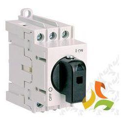 Rozłącznik z pokrętłem bezpośrednim LAS 125 3P 004660108 ETI