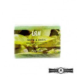 Mydełko tonizujące z neem i bazylią - Lass Naturals