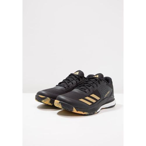 adidas Performance CRAZYFLIGHT BOUNCE Obuwie do siatkówki core blackgold metallicwhite Zalando