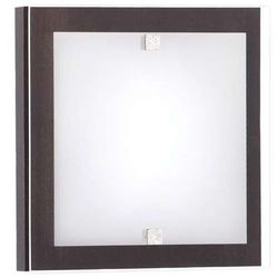 Kinkiet LAMPA ścienna KYOTO XS 3765 Nowodvorski drewniana OPRAWA kwadratowa IP20 wenge biała