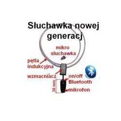 Bezprzewodowa Mikro-Słuchawka + Pętla Indukcyjna Bluetooth (cały świat!).
