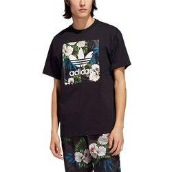 koszulka trykotowa adidas adi trefoil black metallic gold w