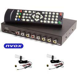 NVOX DVB-T 2010HD Samochodowy tuner telewizji cyfrowej DVB-T MPEG 2/4 FULL HD AV USB HDMI