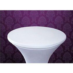 Elastyczna nakładka na stolik barowy PSBN-008 / biały