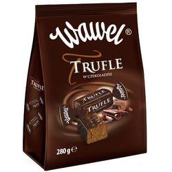 WAWEL 280g Trufle w czekoladzie Cukierki o smaku rumowym