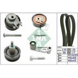 530008910 INA zestaw rozrządu AUDI/SEAT/SKODA/VW 1.4 16v / 1.6 16v 97- CT957K1 K025565XS