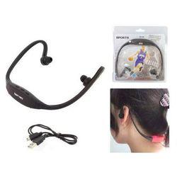 Słuchawki Sportowe z MP3 itd. (czarne).