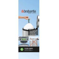 Brabantia - Worki na śmieci - Rozmiar G – 30L - 20 szt