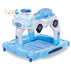 Toyz chodzik dziecięcy TipTop chodzik 3w1 kołyska pchacz blue